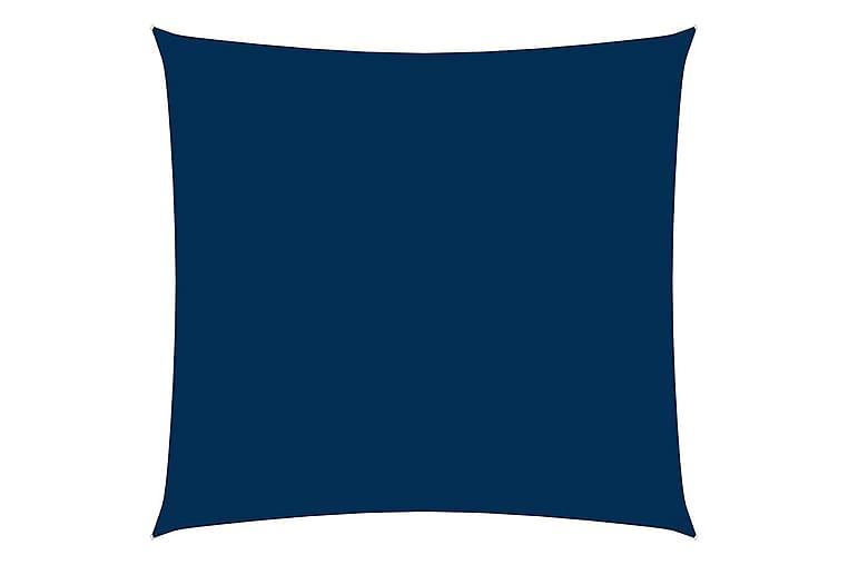 Solseil oxfordstoff firkantet 3,6x3,6 m blå - Blå - Hagemøbler - Solbeskyttelse - Solseil