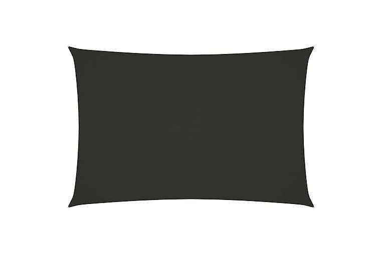 Solseil oxfordstoff rektangulær 2x4,5 m antrasitt - Antrasittgrå - Hagemøbler - Solbeskyttelse - Solseil