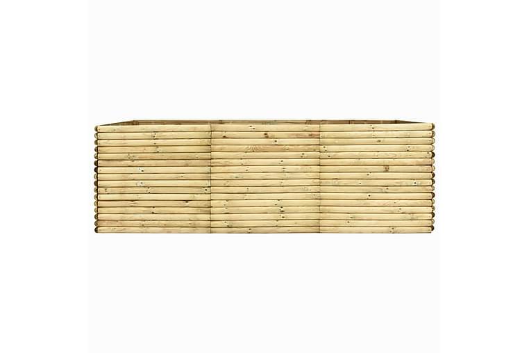 Høybed 300x150x96 cm impregnert furu - Hagemøbler - Tilbehør utendørs - Hagekrukker