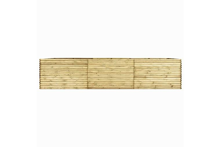 Høybed 450x150x96 cm impregnert furu - Hagemøbler - Tilbehør utendørs - Hagekrukker