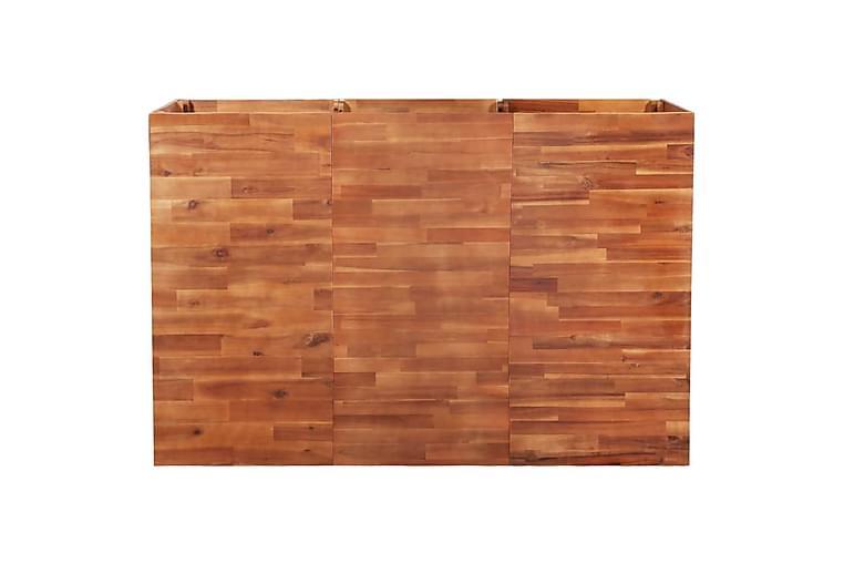 Høybed akasietre 150x50x100 cm - Hagemøbler - Tilbehør utendørs - Hagekrukker