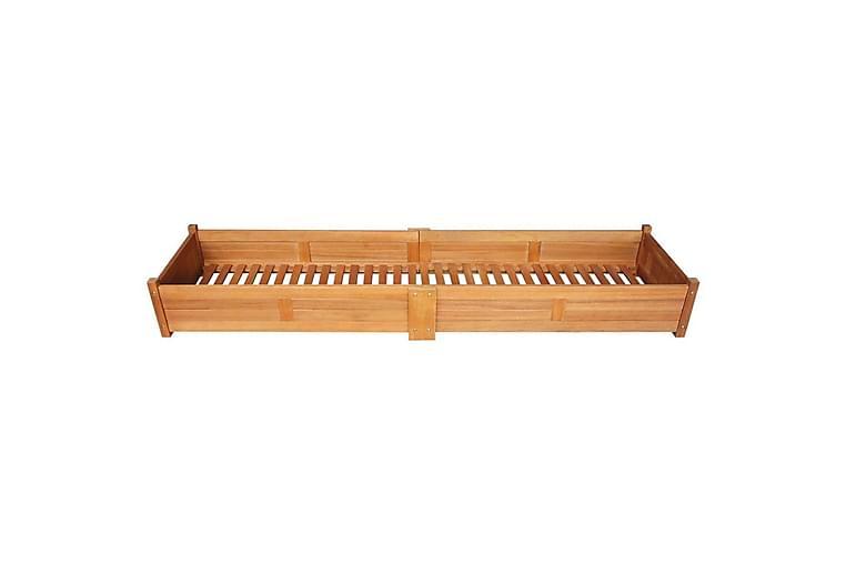 Høybed akasietre 200x50x25 cm - Hagemøbler - Tilbehør utendørs - Hagekrukker