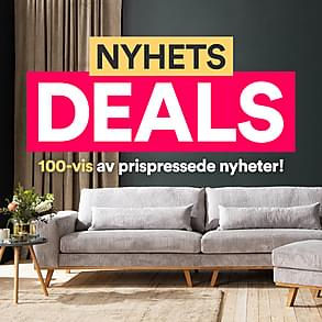 Nyhets deals - 100-vis av prispressede nyheter!