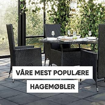Våre mest populære hagemøbler