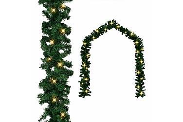 Julegarland med LED-lys 10 m