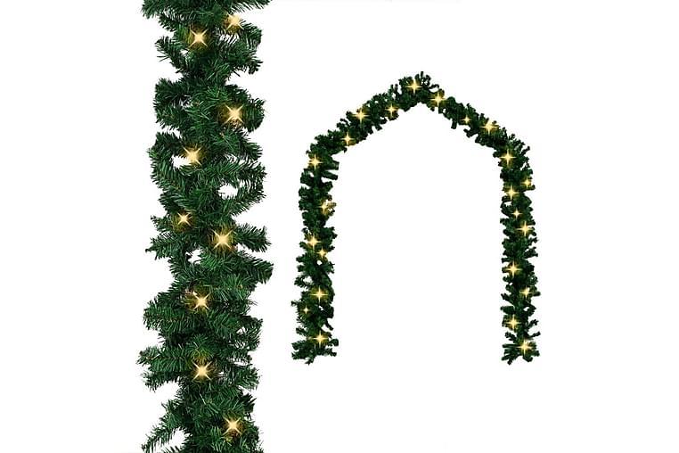 Julegarland med LED-lys 20 m - Innredning - Dekorasjon - Julepynt & juledekorasjon