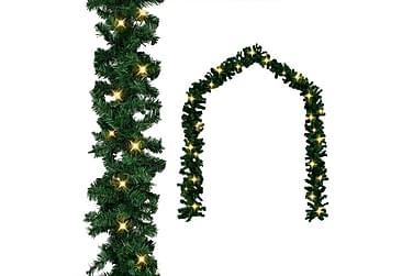Julegarland med LED-lys 5 m