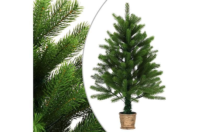 Kunstig juletre med kurv 90 cm grønn - grønn - Innredning - Dekorasjon - Julepynt & juledekorasjon