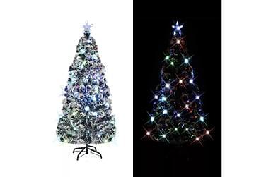 Kunstig juletre med stativ/LED 180 cm 220 grener
