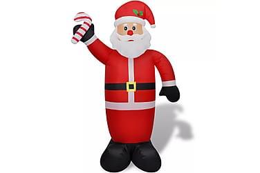 Oppblåsbar julenisse 240 cm