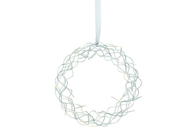 Snö Krans LED 35 cm - Markslöjd - Innredning - Dekorasjon - Julepynt & juledekorasjon