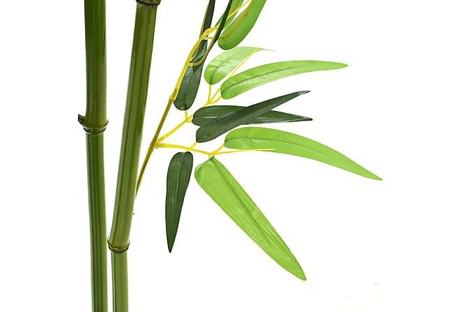 Kunstig bambus med potte 175 cm grønn - Innredning - Dekorasjon - Kunstige planter