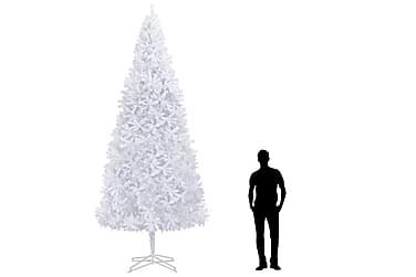Kunstig juletre 400 cm hvit