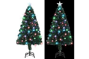 Kunstig juletre med stativ/LED 120 cm 135 grener