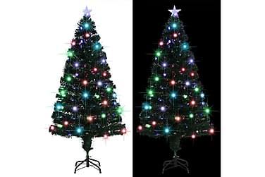 Kunstig juletre med stativ/LED 150 cm 170 grener