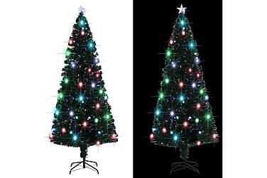 Kunstig juletre med stativ/LED 210 cm 280 grener