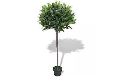 Kunstig laurbær med potte 125 cm grønn