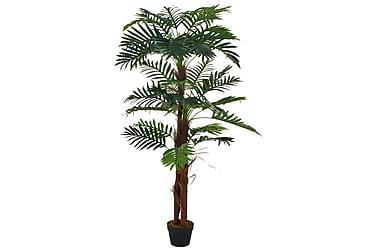 Kunstig palme med potte grønn 165 cm