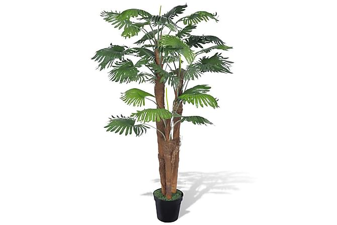 Kunstig palmetre med potte 180 cm - Innredning - Dekorasjon - Kunstige planter