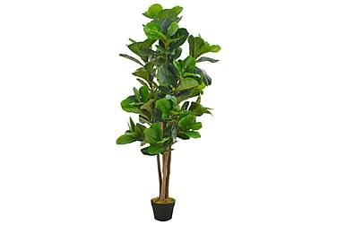 Kunstig plante fiolinfiken med potte grønn 152 cm