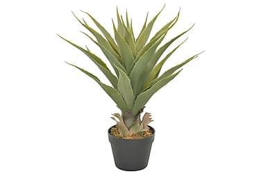 Kunstig yucca-plante med potte grønn 90 cm