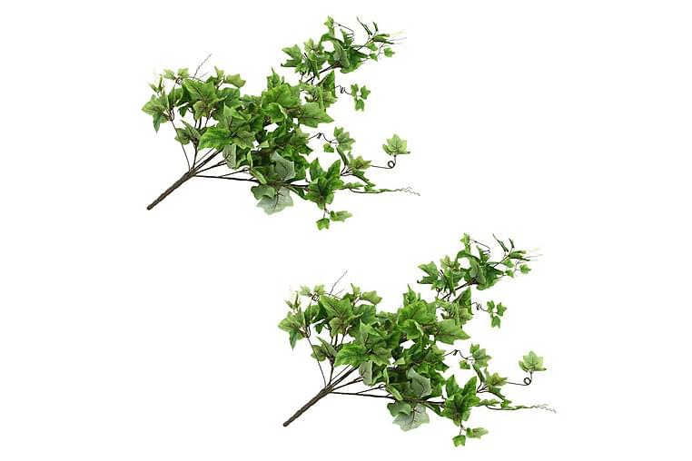Kunstige drueblader 2 stk grønn 90 cm - grønn - Innredning - Dekorasjon - Kunstige planter