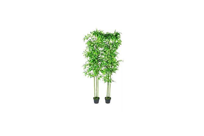 Sett med kunstige planter 2 stk190 cm - Innredning - Dekorasjon - Kunstige planter