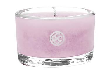 Duftlys Glass Tealight Pink Cherry Bloss