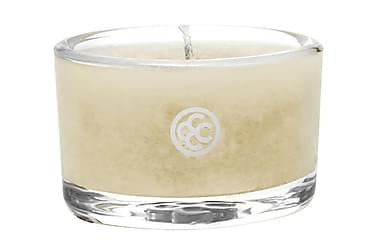 Duftlys Glass Tealight Simply Vanilla