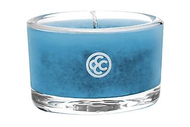 Duftlys Glass Tealight Topaz Waters