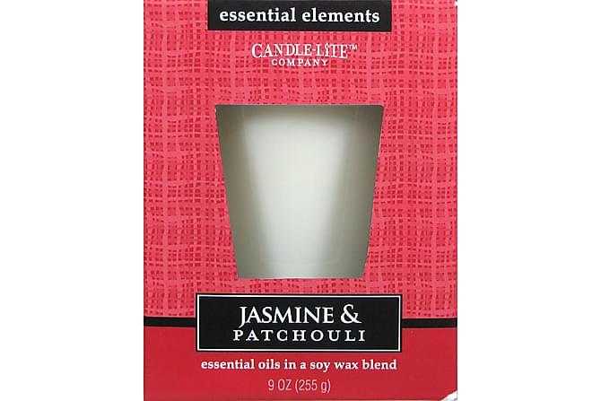 Essential Duftlys 255 g - Jasmine & Patchouli - Innredning - Dekorasjon - Duftlys & romdufter
