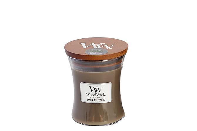 WoodWick Medium - Sand & Driftwood - Innredning - Dekorasjon - Duftlys & romdufter