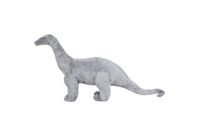 Stående lekedinosaur brachiosaurus grå XXL - Innredning - Innredning barnerom - Dekorasjon til barnerom
