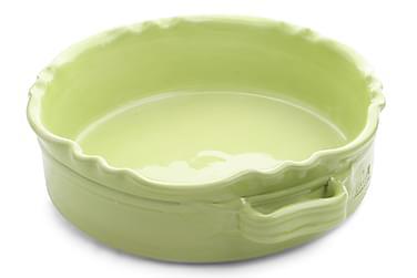 Gratengform rund liten Limegrønn