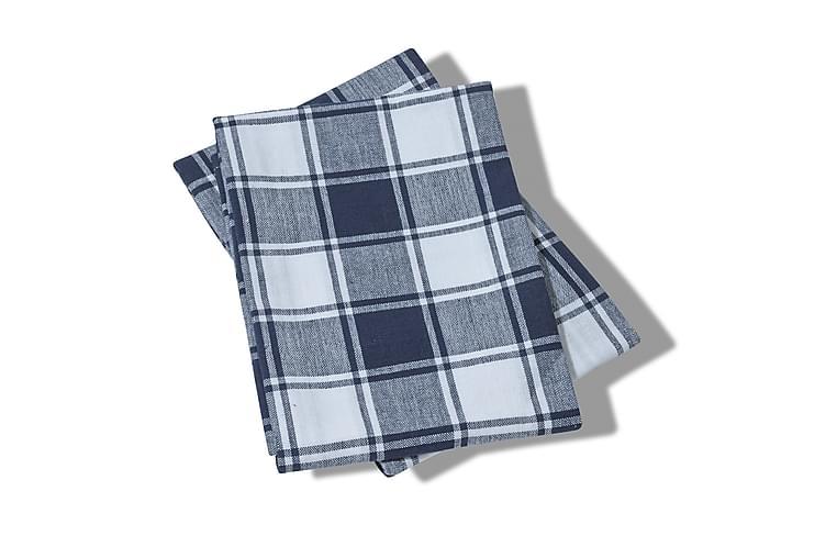Queen Anne kjøkkenhåndkle 65x45 cm - Marineblå - Innredning - Kjøkkenutstyr - Tekstiler kjøkken