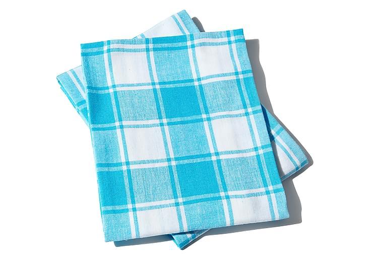 Queen Anne kjøkkenhåndkle - 65x45cm Turkis - Innredning - Kjøkkenutstyr - Tekstiler kjøkken