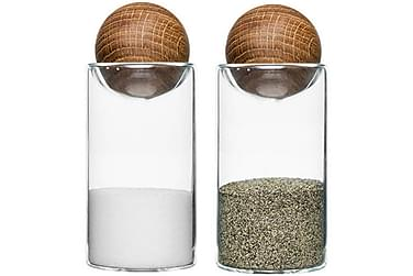 Oval Oak Salt- og peppersett