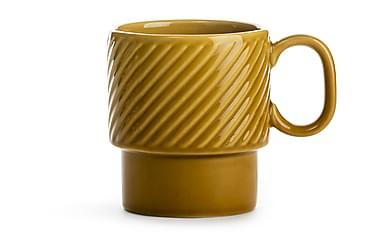 Coffee & More Kaffekrus gul