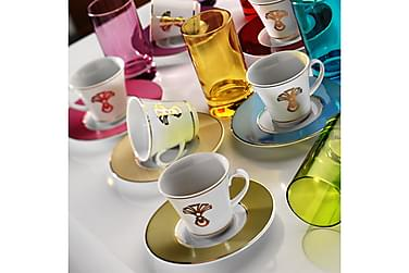 Kütahya Kaffeservise 18 Deler Porselen