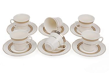 Kütahya Teservise 12 Deler Porselen