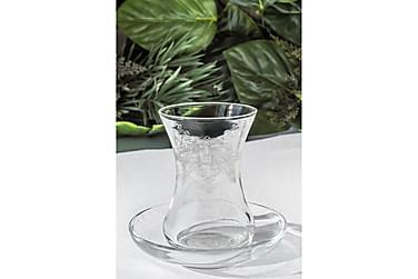 Noble Life Teservise Glass 12 Deler Glass