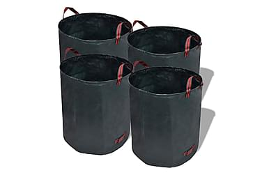 Hageavfallsekk 4 stk grønn 272 L 150 g/m²