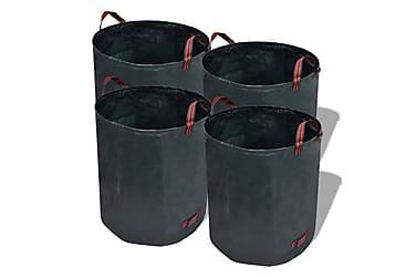 Hageavfallssekker mørkegrønn 4 stk 120 L 150 g/kvm