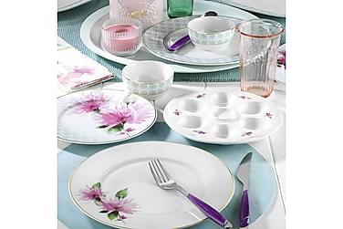 Kütahya Frokostsett 25 Deler Porselen