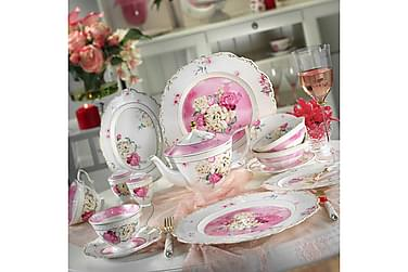 Kütahya Frokostsett 38 Deler Porselen