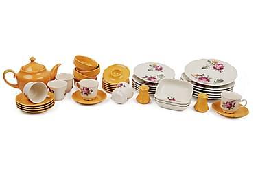 Kütahya Frokostsett 42 Deler Porselen