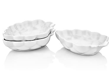 Noble Life Serveringskål 6-pk Bringbær Porselen