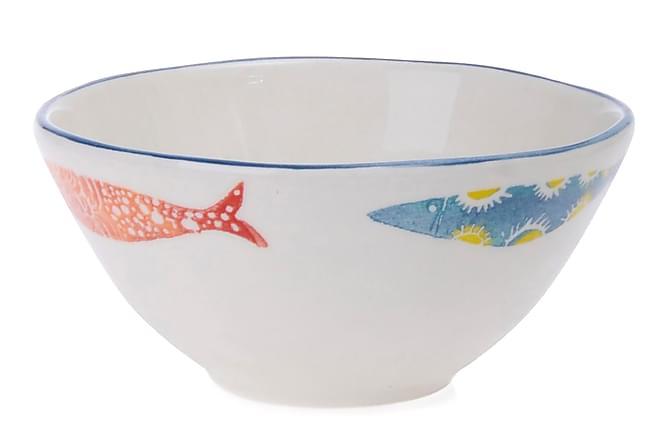 Kosova Skål 6-pk 16 cm Keramikk - Flerfarget - Innredning - Kjøkkenutstyr - Skåler & bakeskåler