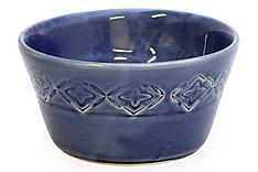 Olivenskål Medium Marineblå
