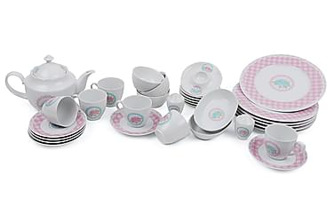 Kütahya Frokostsett 33 Deler Porselen